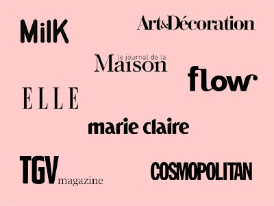 Actualité presse design made in France figaro cosmopolitan milk elle marie claire gone's